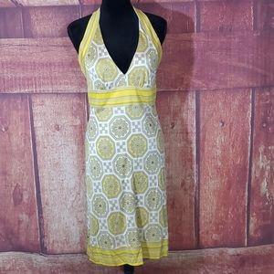 Trina Turk Retro Halter Dress